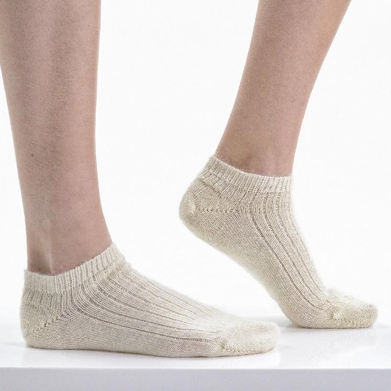Socquettes en Mohair